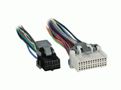 wireharness stereoman how to install an after market car stereo wiring harness adapter for car stereo at bayanpartner.co